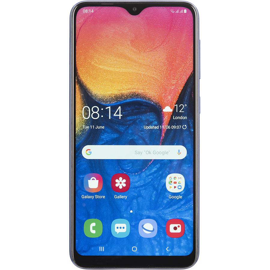 Samsung Galaxy A10 - Vue de face