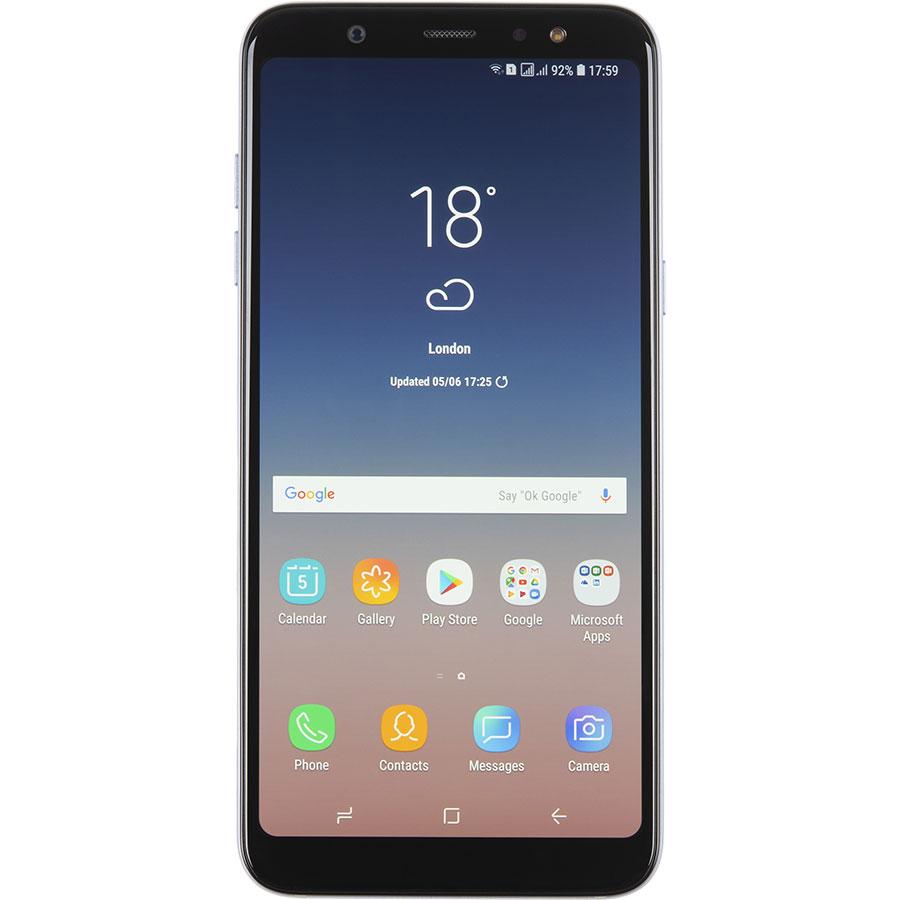 Samsung Galaxy A6+ 2018 - Vue de face