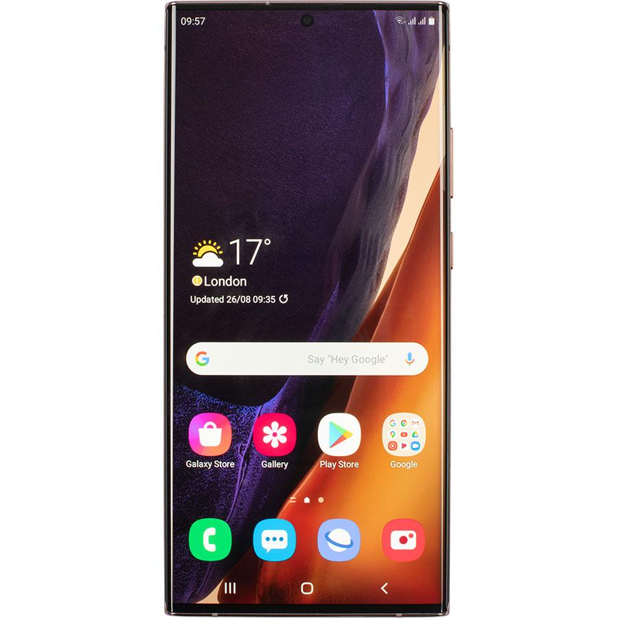Samsung Galaxy Note 20 Ultra - Vue de face