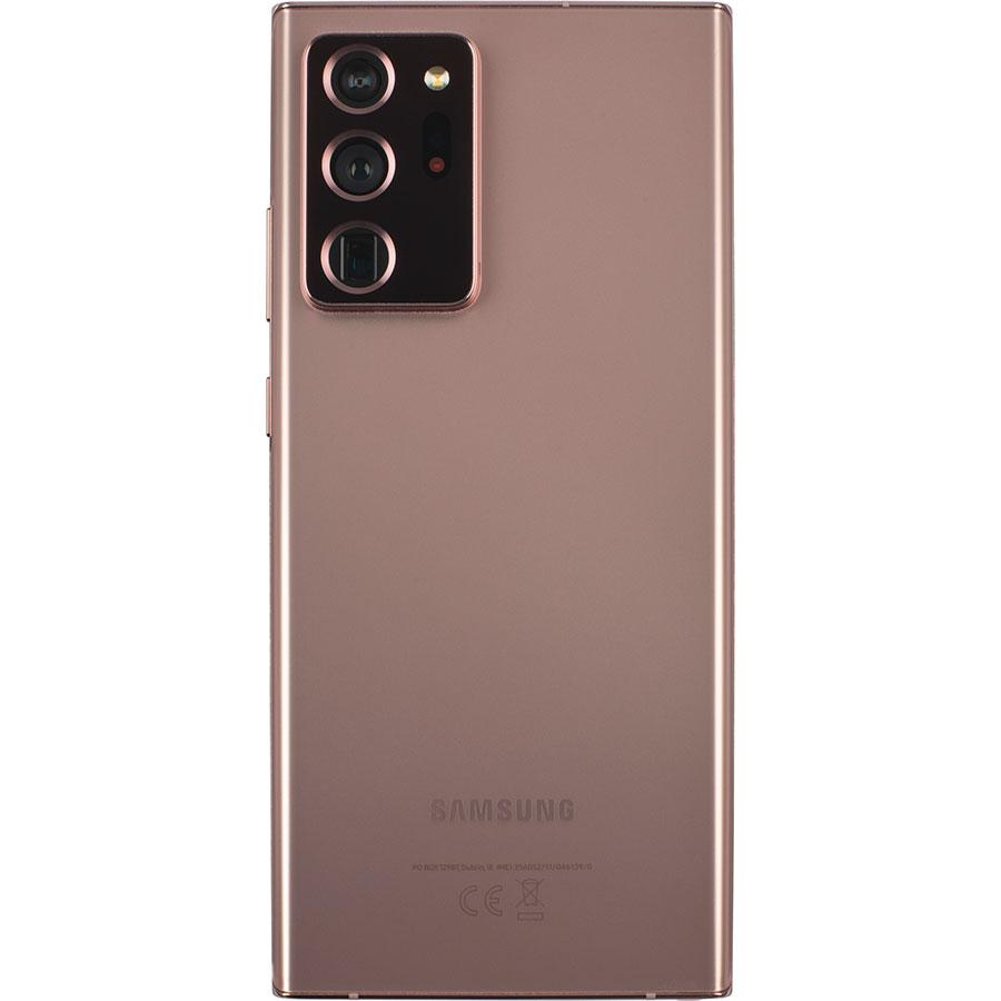 Samsung Galaxy Note 20 Ultra - Vue de dos