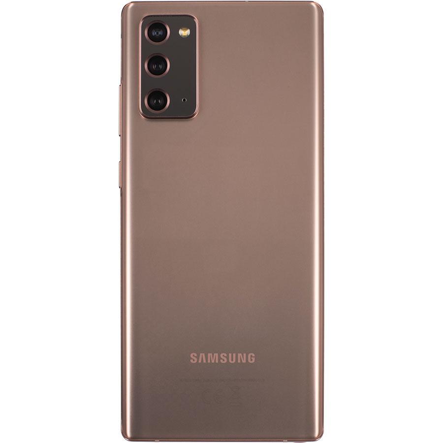 Samsung Galaxy Note 20 - Vue de dos