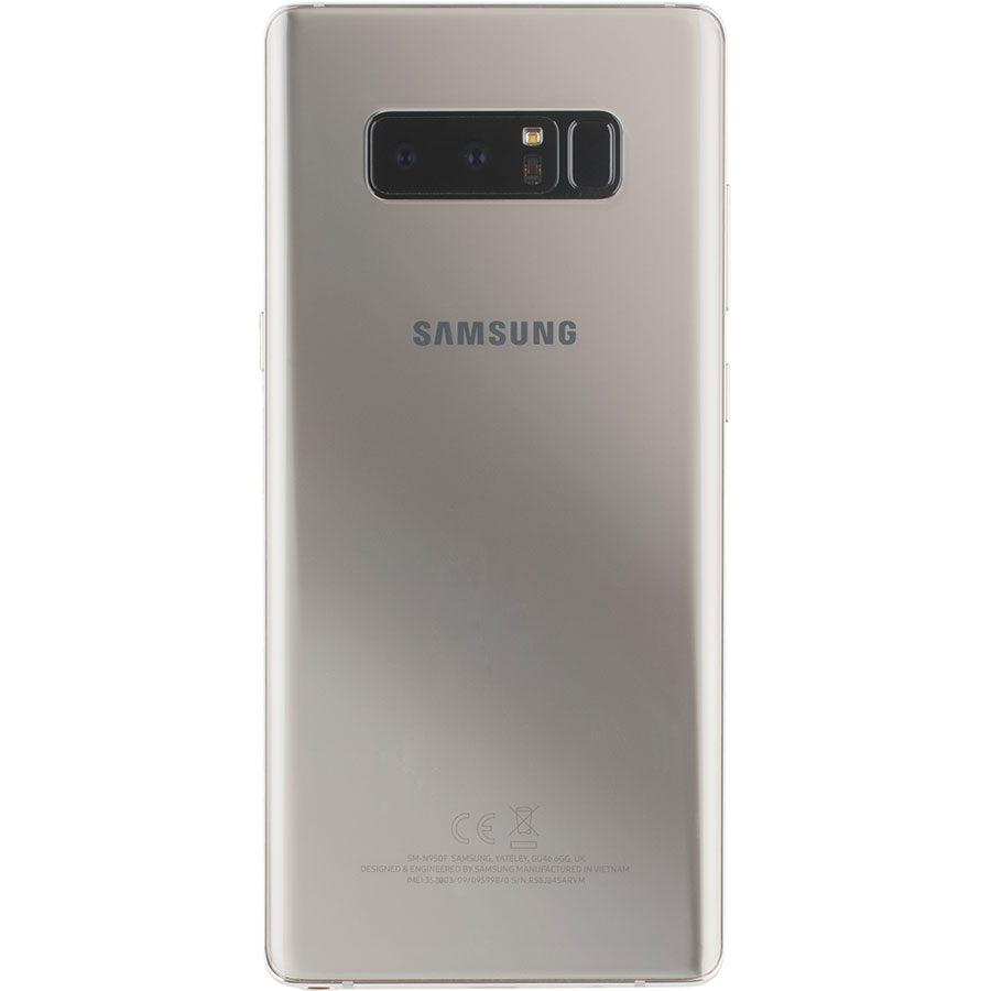 Samsung Galaxy Note 8 - Vue de dos