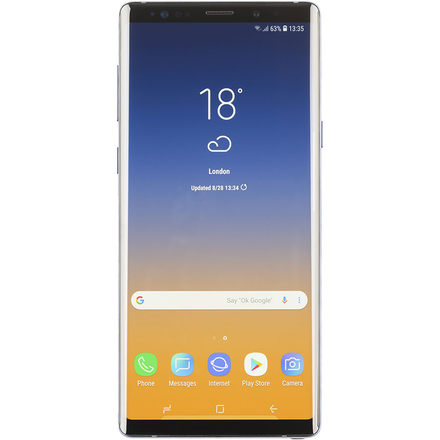 Samsung Galaxy Note 9 - Vue de face