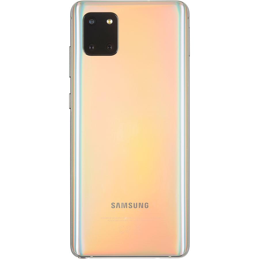 Samsung Galaxy Note 10 Lite - Vue de dos