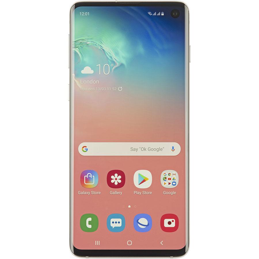 Samsung Galaxy S10 - Vue de face