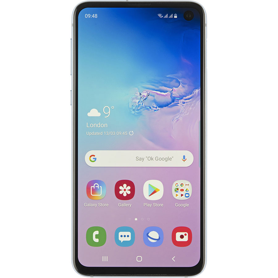 Samsung Galaxy S10e - Vue de face