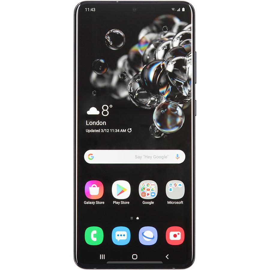 Samsung Galaxy S20 Ultra 5G - Vue de face