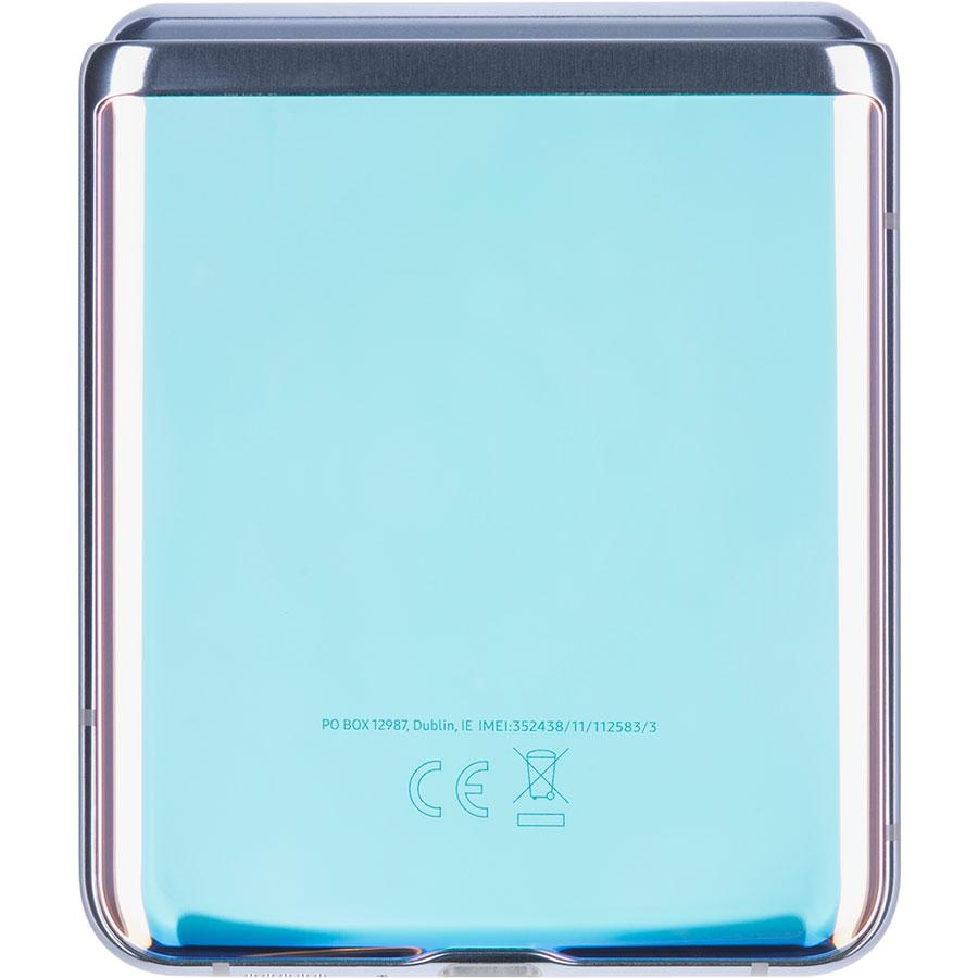 Samsung Galaxy Z Flip - Face arrière du smartphone plié