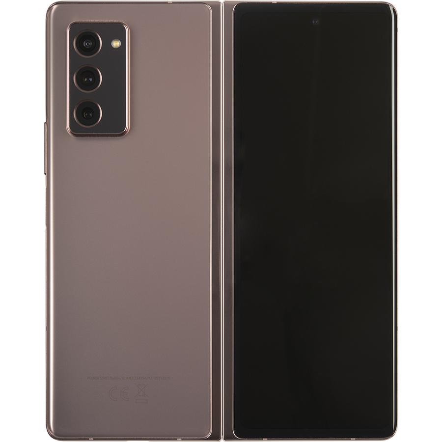 Samsung Galaxy Z Fold2 5G - Vue de dos déplié