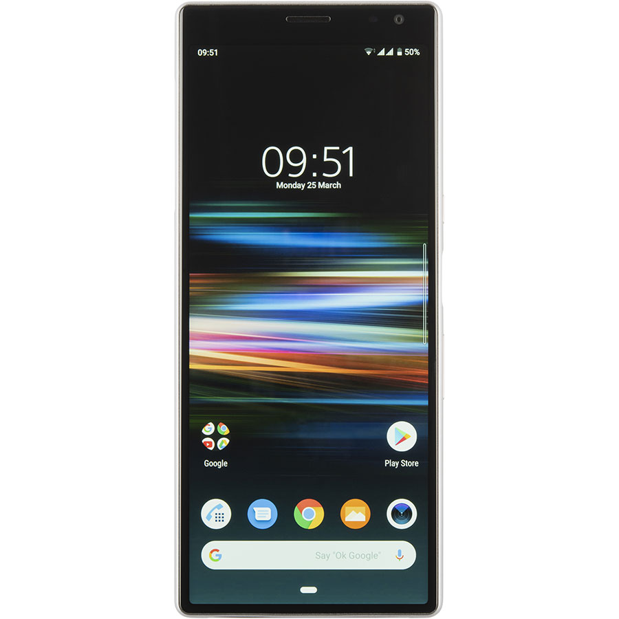 Sony Xperia 10 Plus - Vue de face