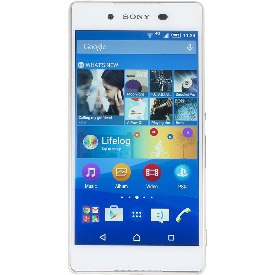 Sony Xperia Z3+ - Vue principale