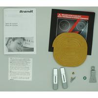 Brandt TI1014B - Accessoires et documents livrés avec le produit.