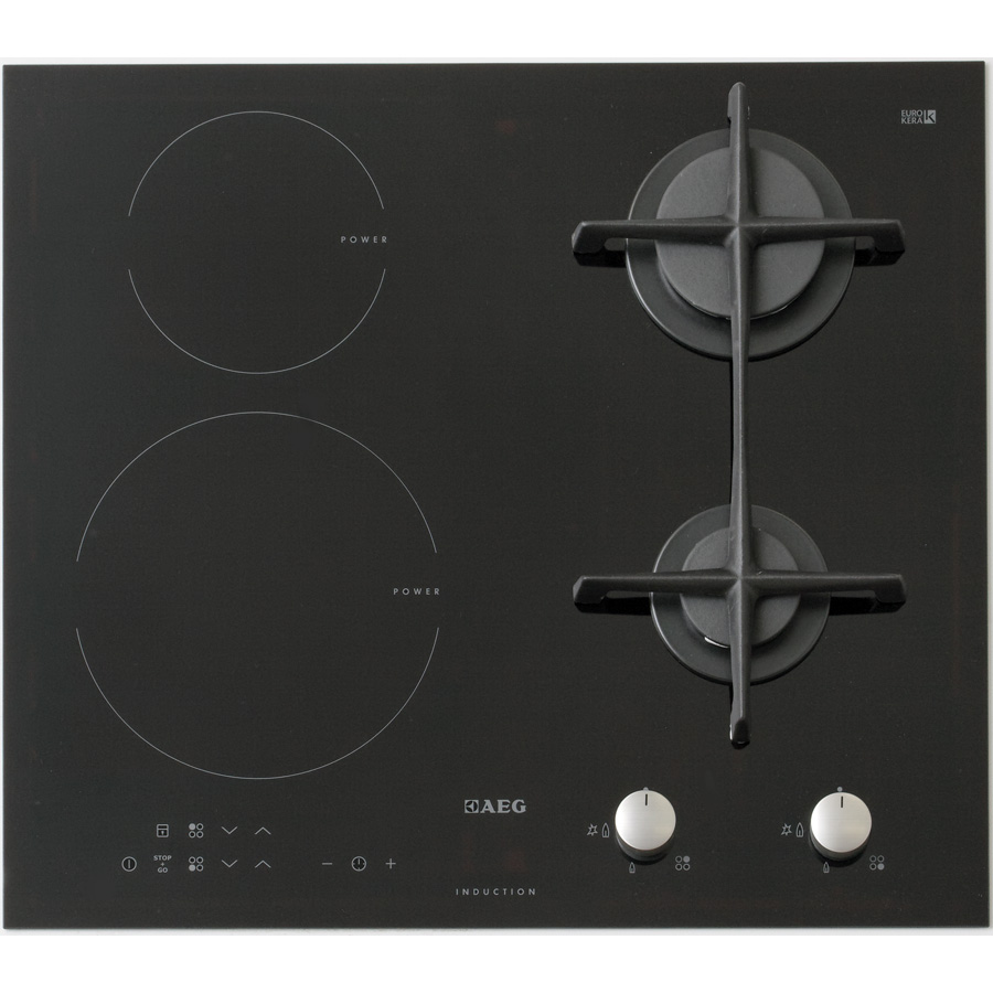 Test aeg hd634170nb tables mixtes induction et gaz ufc que choisir - Table de cuisson gaz induction ...