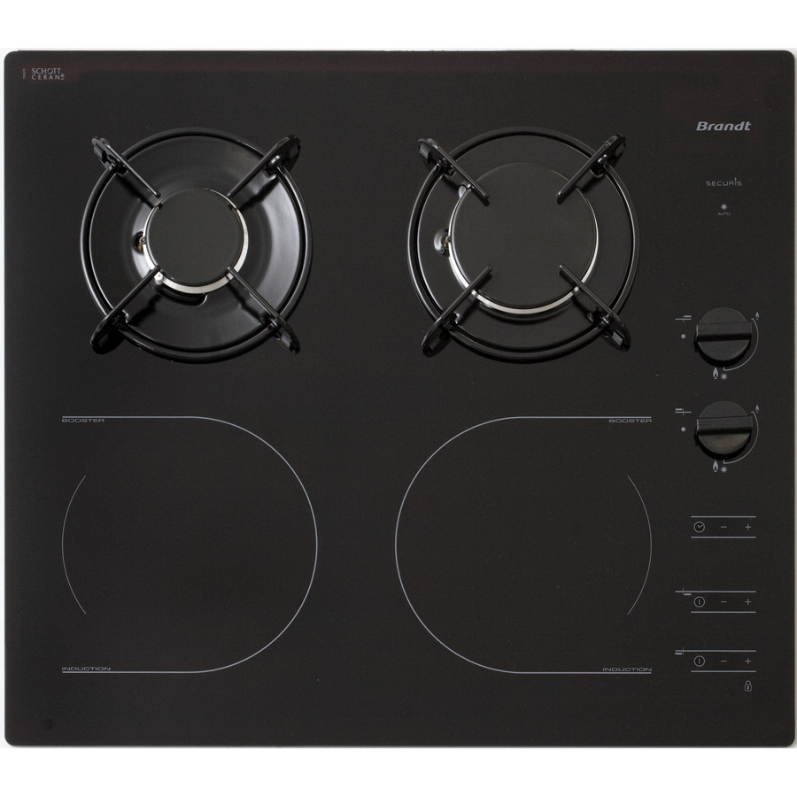 Test brandt ti1013b tables mixtes induction et gaz ufc for Choisir plaque de cuisson