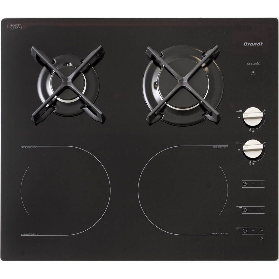 Test brandt ti1014b tables mixtes induction et gaz ufc que choisir - Table de cuisson gaz induction ...