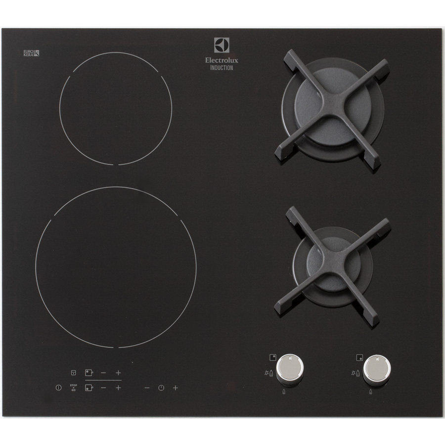 Test electrolux egd6576nok tables mixtes induction et gaz ufc que choisir - Table de cuisson gaz induction ...