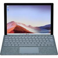 Microsoft Surface Pro 7 - Vue avec le clavier