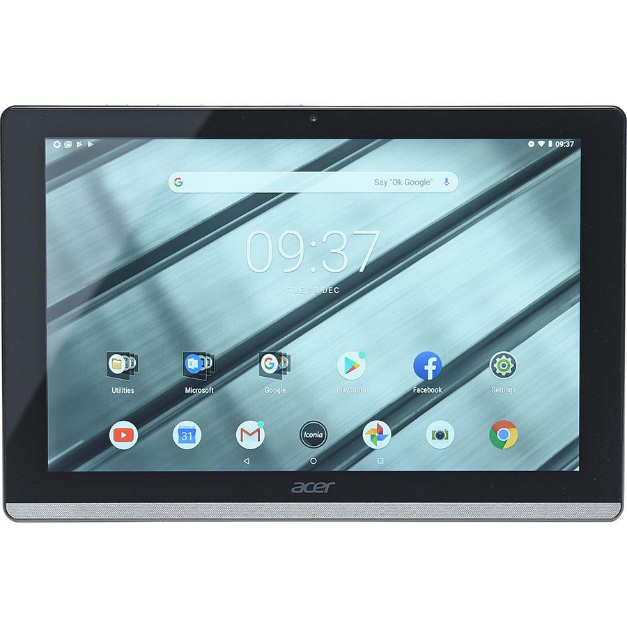 Acer Iconia One 10 B3-A50FHD - Vue de face à l'horizontal