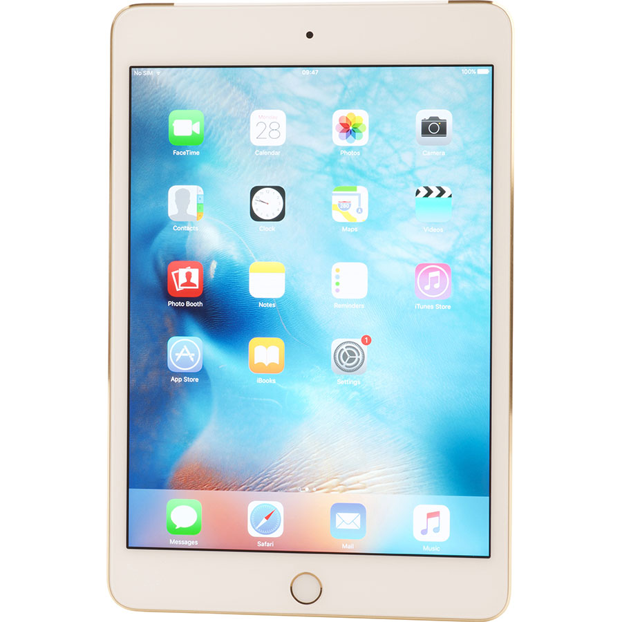 Apple iPad Mini 4 + 4G - Vue principale