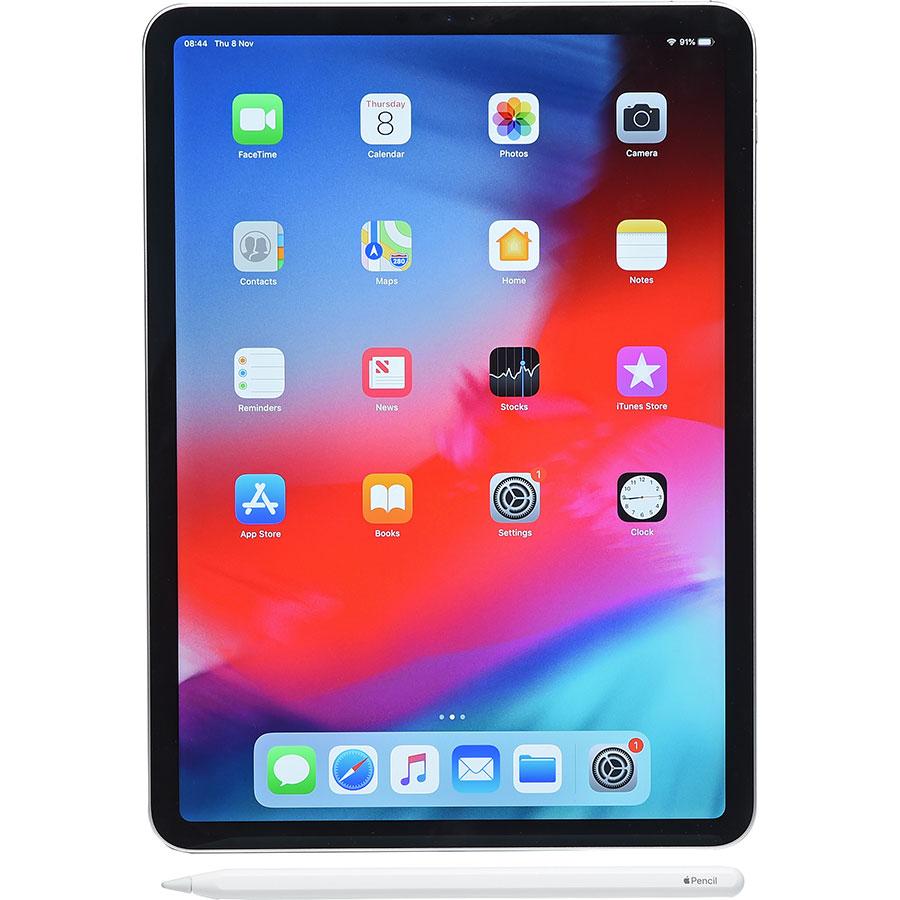 """Apple iPad Pro 2018 11""""  - Vue avec le stylet"""