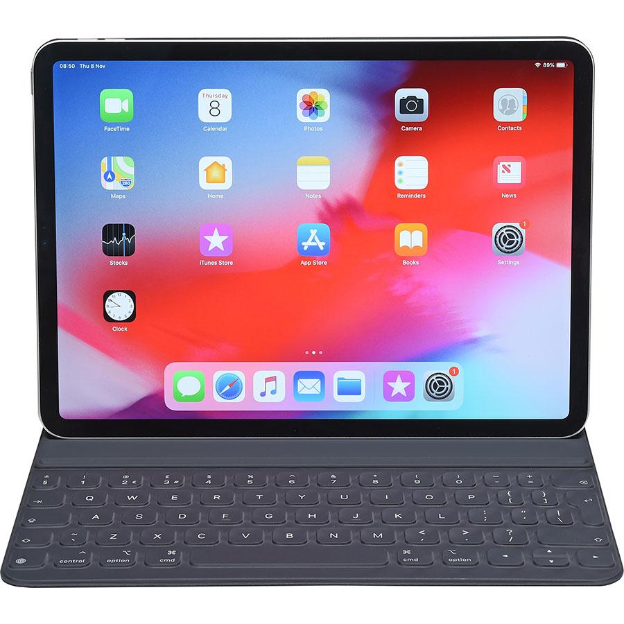 """Apple iPad Pro 2018 11""""  - Vue avec le clavier"""