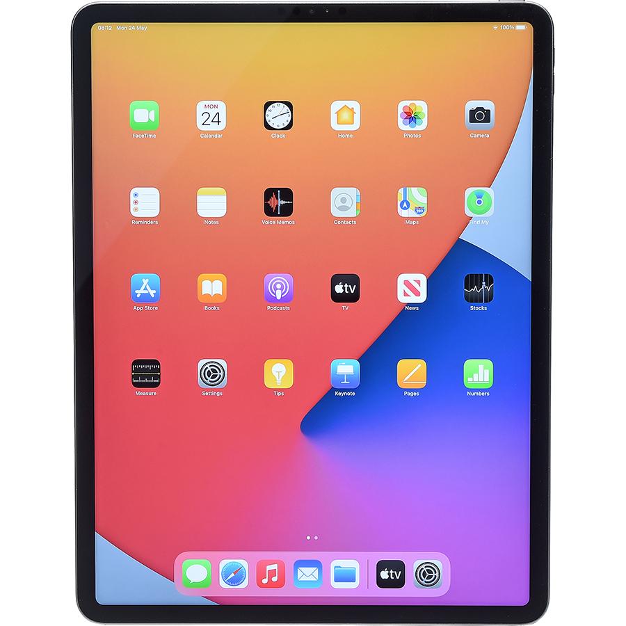 """Apple iPad Pro 2021 12,9"""" - Vue de face à la verticale"""