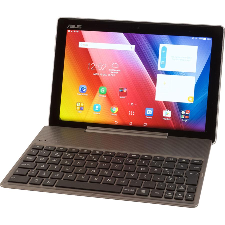 Asus ZenPad 10 ZD300M - Vue avec le clavier