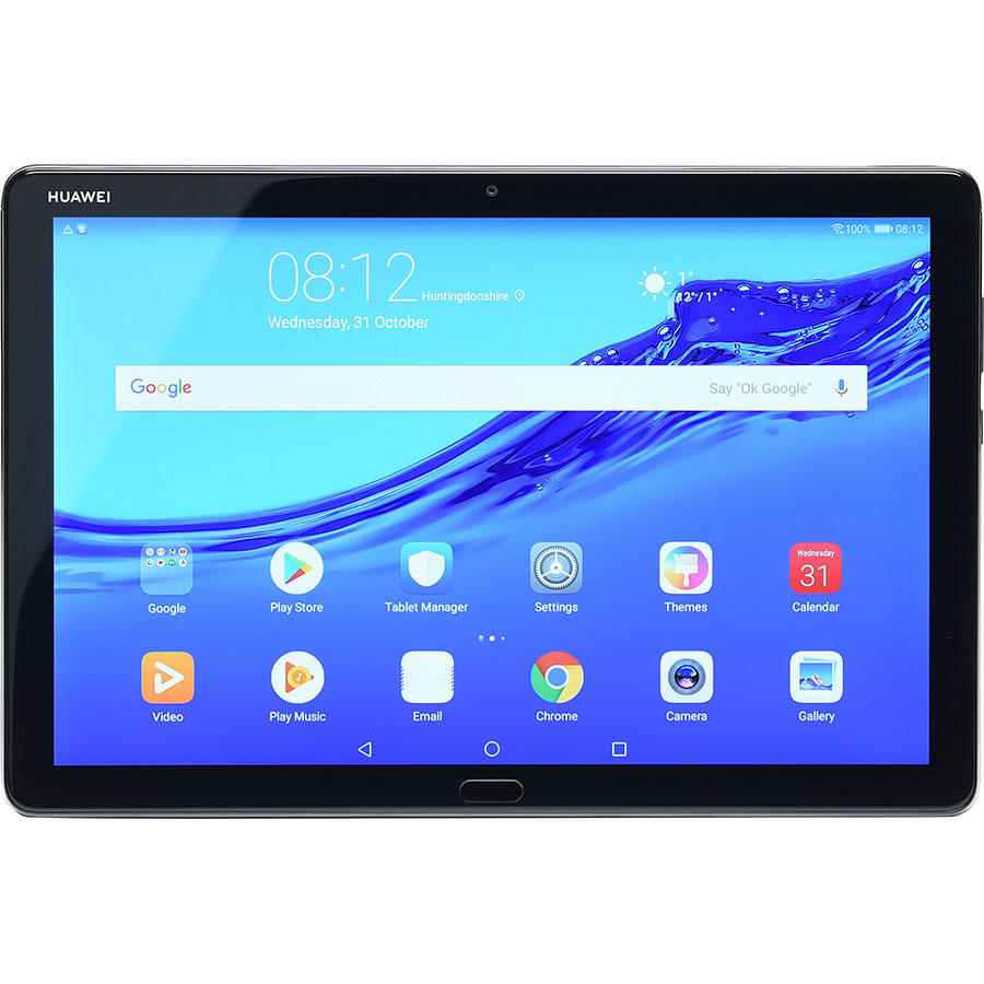 Huawei Mediapad M5 lite(*7*) - Vue de face à l'horizontal