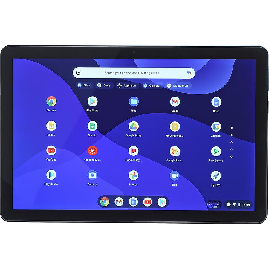 Lenovo Ideapad Duet Chromebook - Vue de face à l'horizontal