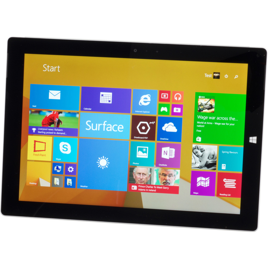Microsoft Surface 3 - Vue principale