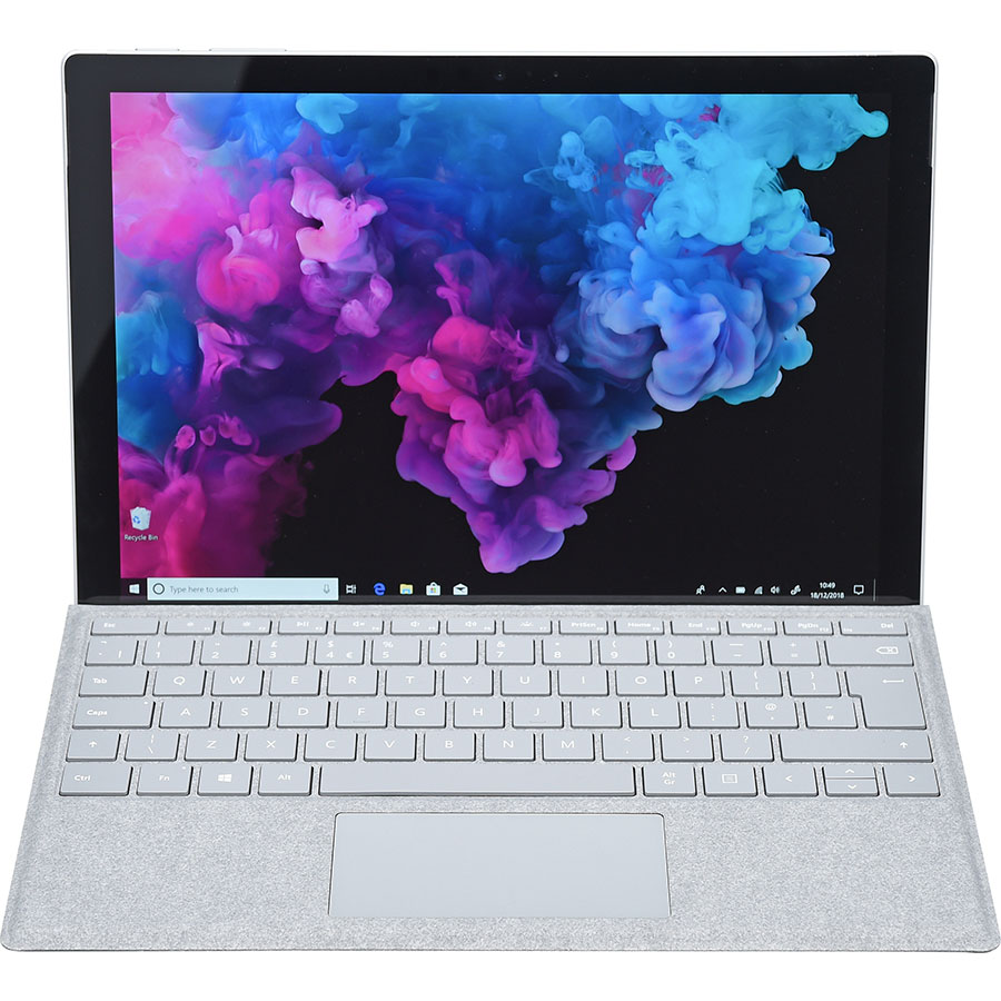 Microsoft Surface Pro 6 + clavier - Vue avec le clavier