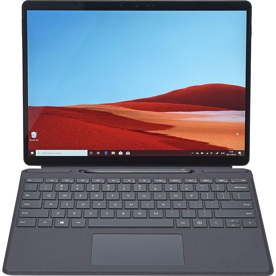 Microsoft Surface Pro X - Vue avec le clavier