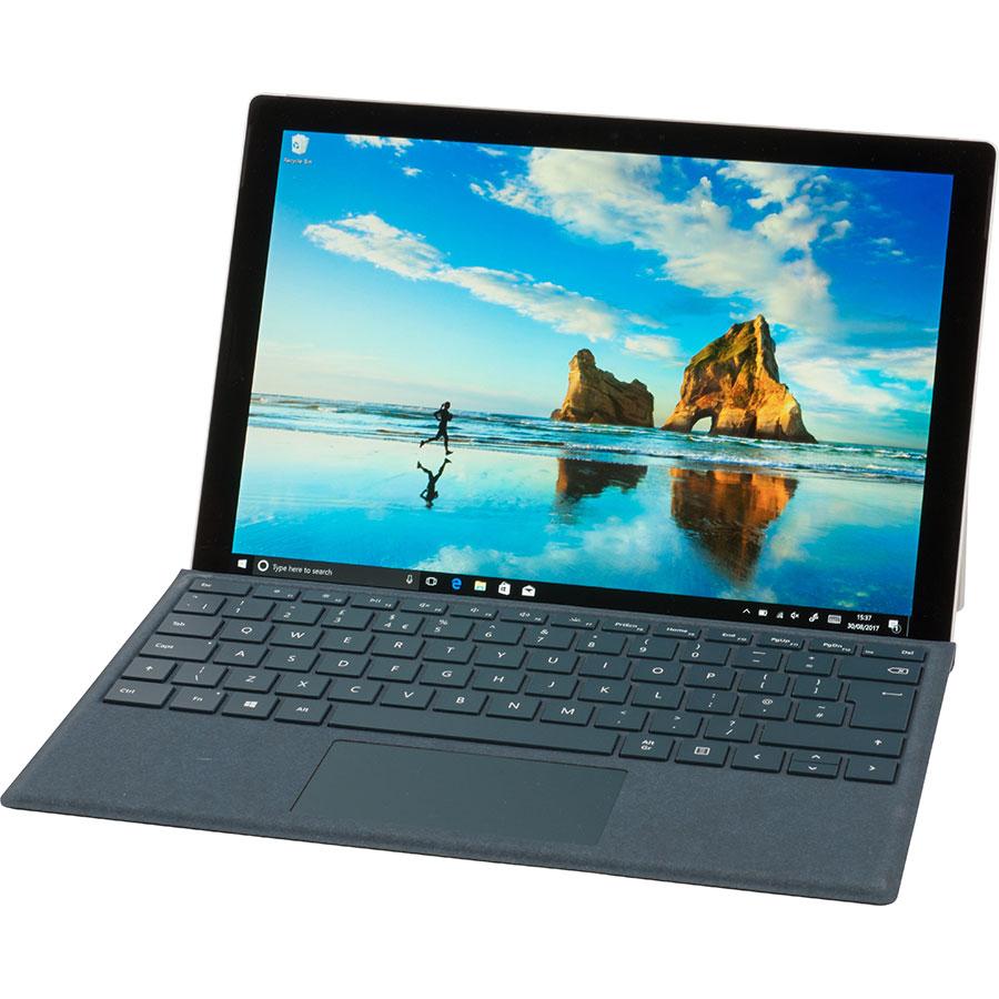 Microsoft Surface Pro - Vue avec le clavier