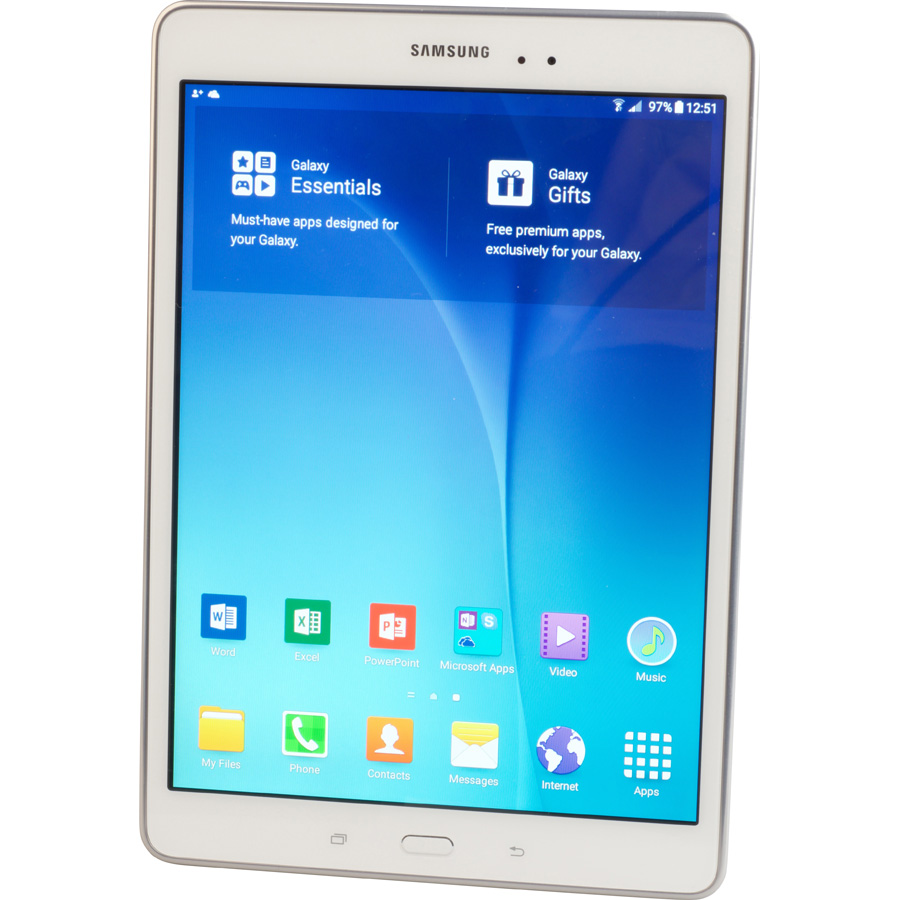 Samsung Galaxy Tab A 4G - Vue principale