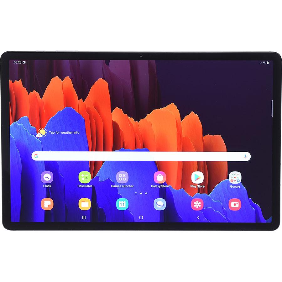 Samsung Galaxy Tab S7 + - Vue à l'horizontale