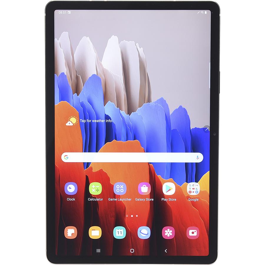 Samsung Galaxy Tab S7 - Vue de face à la verticale
