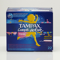 Tampax Compak Active Fresh