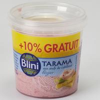 Blini Tarama aux œufs de cabillaud léger