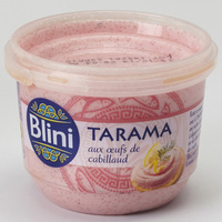 Blini Tarama aux œufs de cabillaud