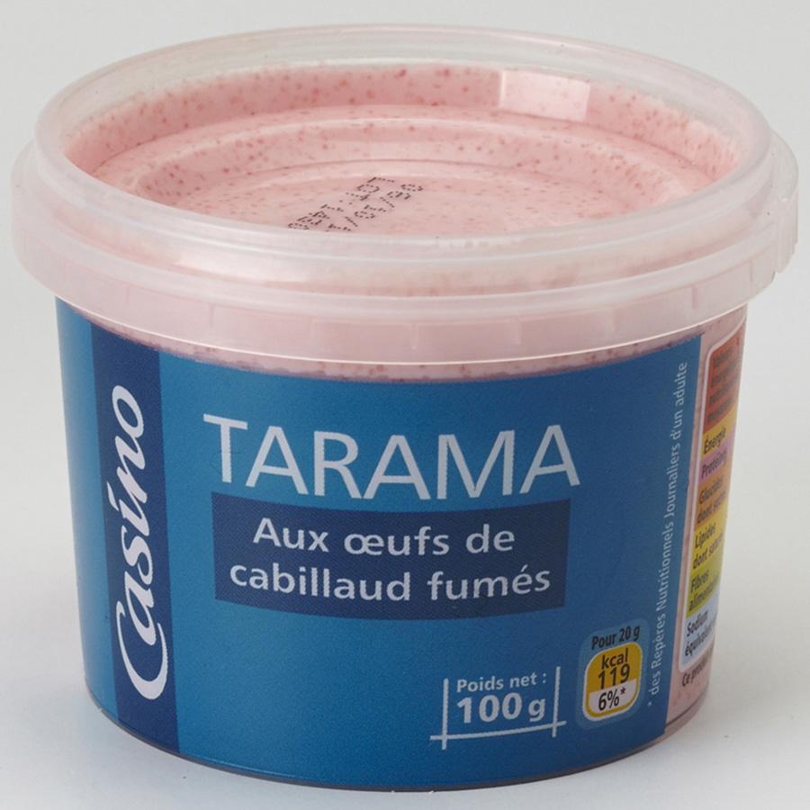 Casino Tarama aux œufs de cabillauds fumés -