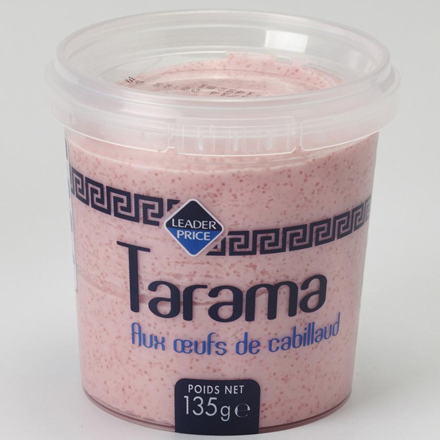 Leader Price Tarama aux œufs de cabillaud -
