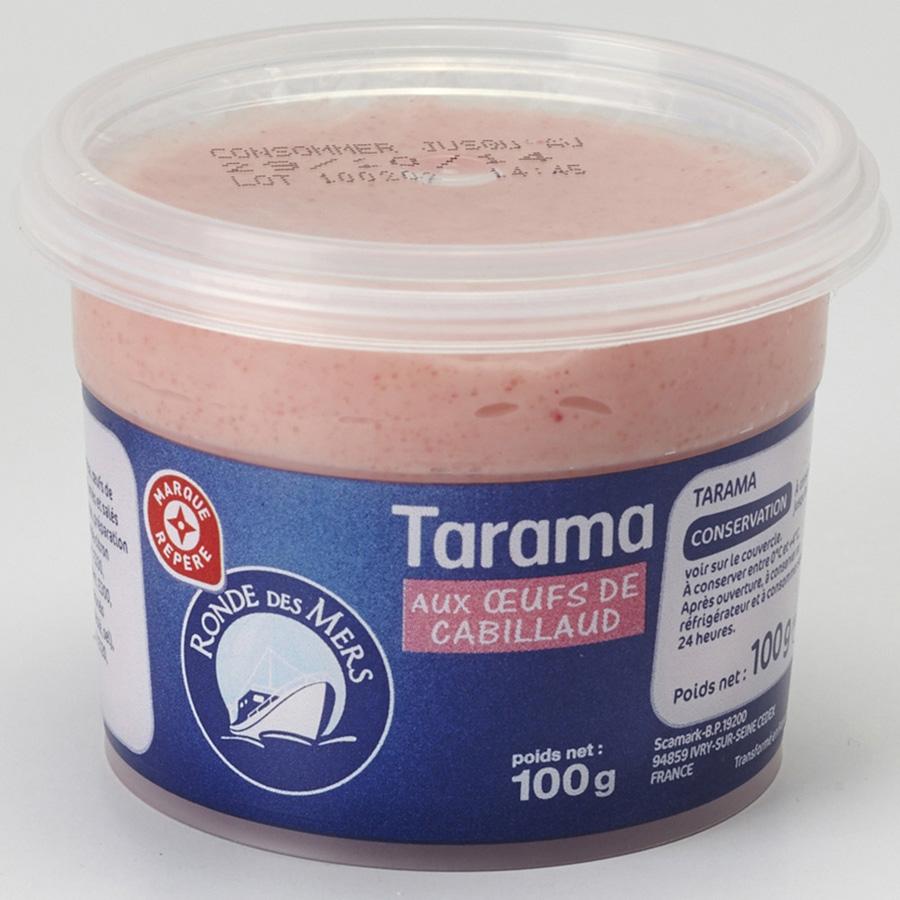 Marque Repère (Leclerc) Tarama aux œufs de cabillaud -
