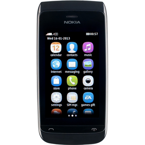 test nokia asha 308 dual sim t l phones mobiles ufc que choisir. Black Bedroom Furniture Sets. Home Design Ideas