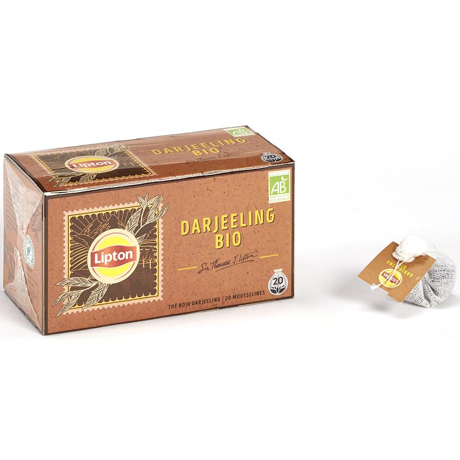 Lipton Darjeeling bio -