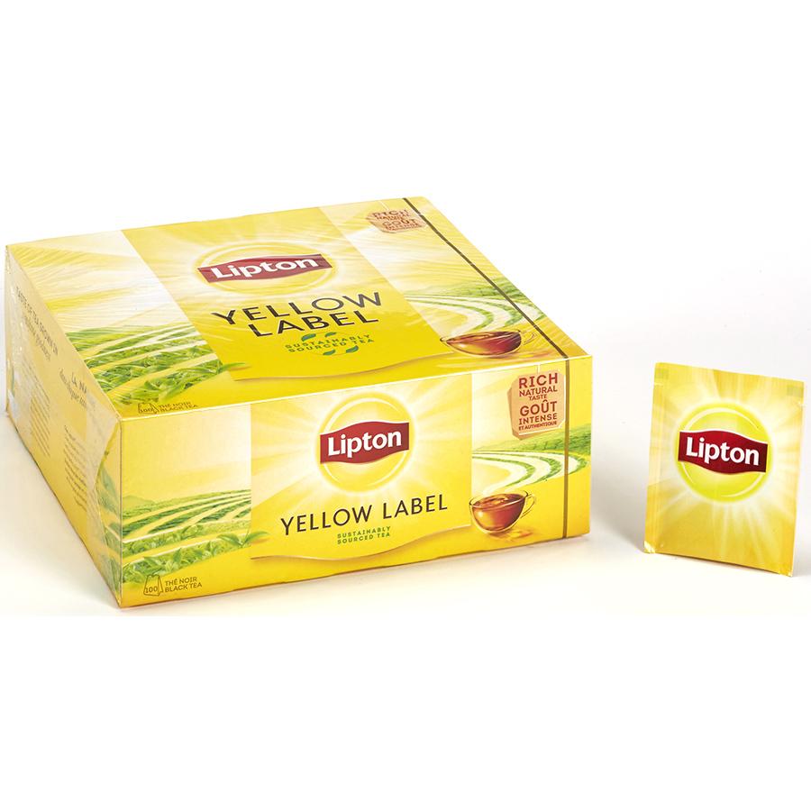 Lipton Thé noir Yellow label -