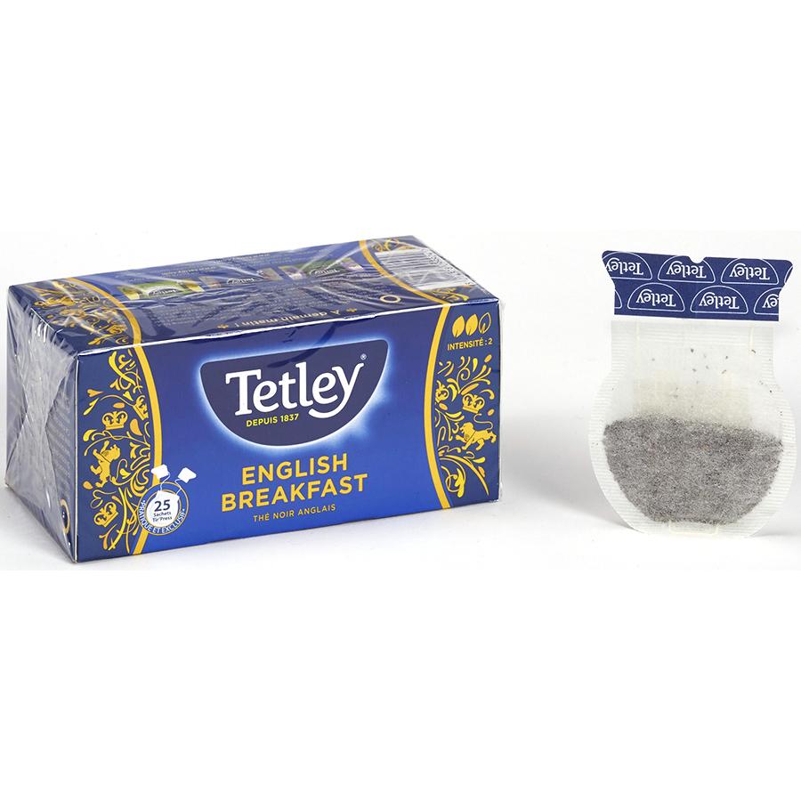 Tetley English breakfast - Thé noir anglais -