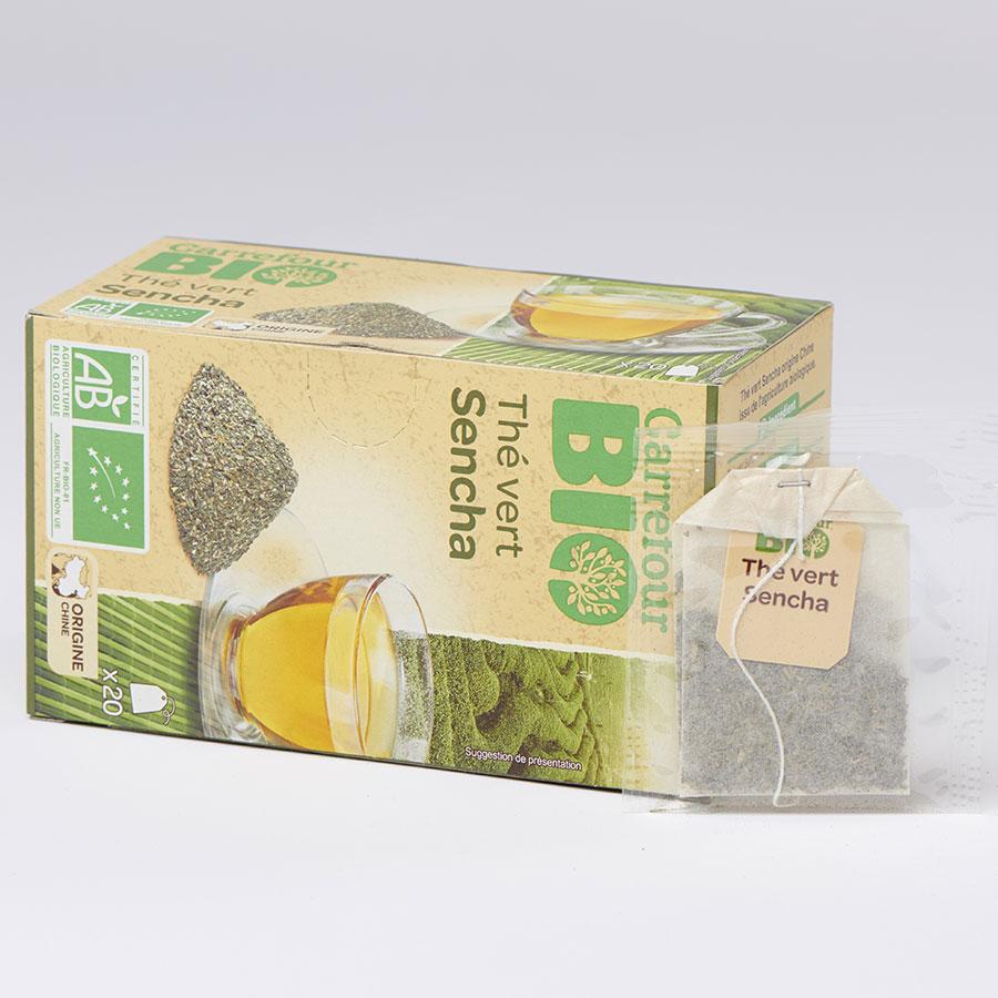 Carrefour bio Thé vert Sencha -