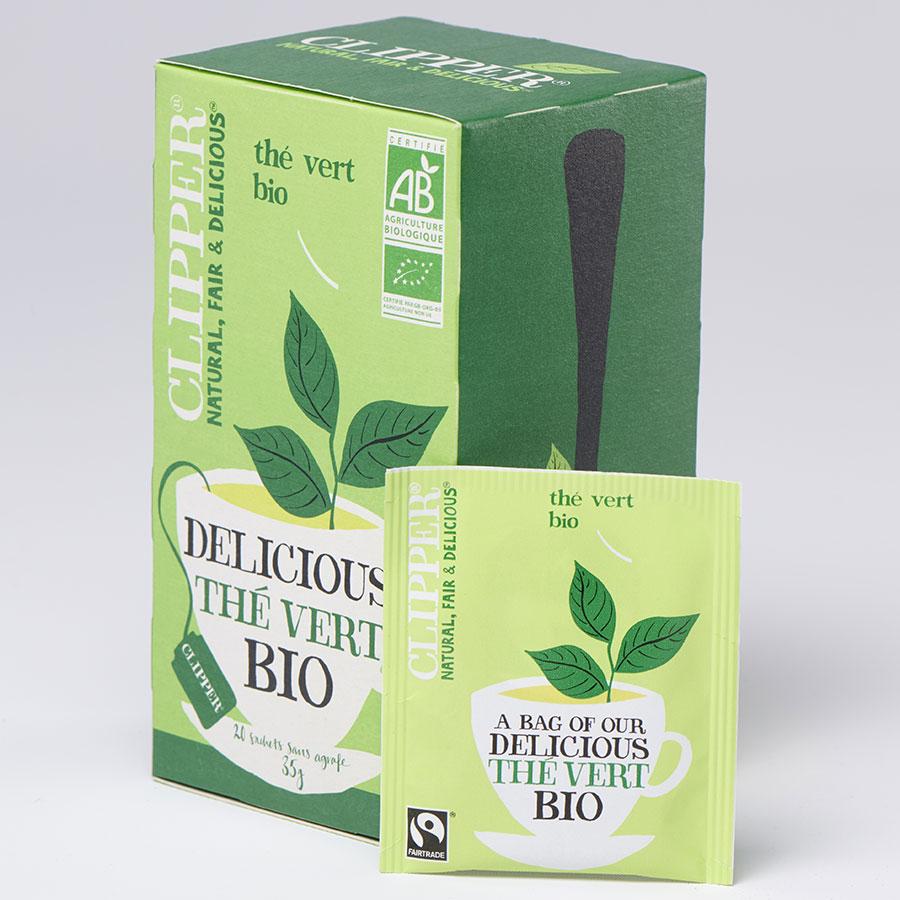 Clipper Delicious thé vert bio -