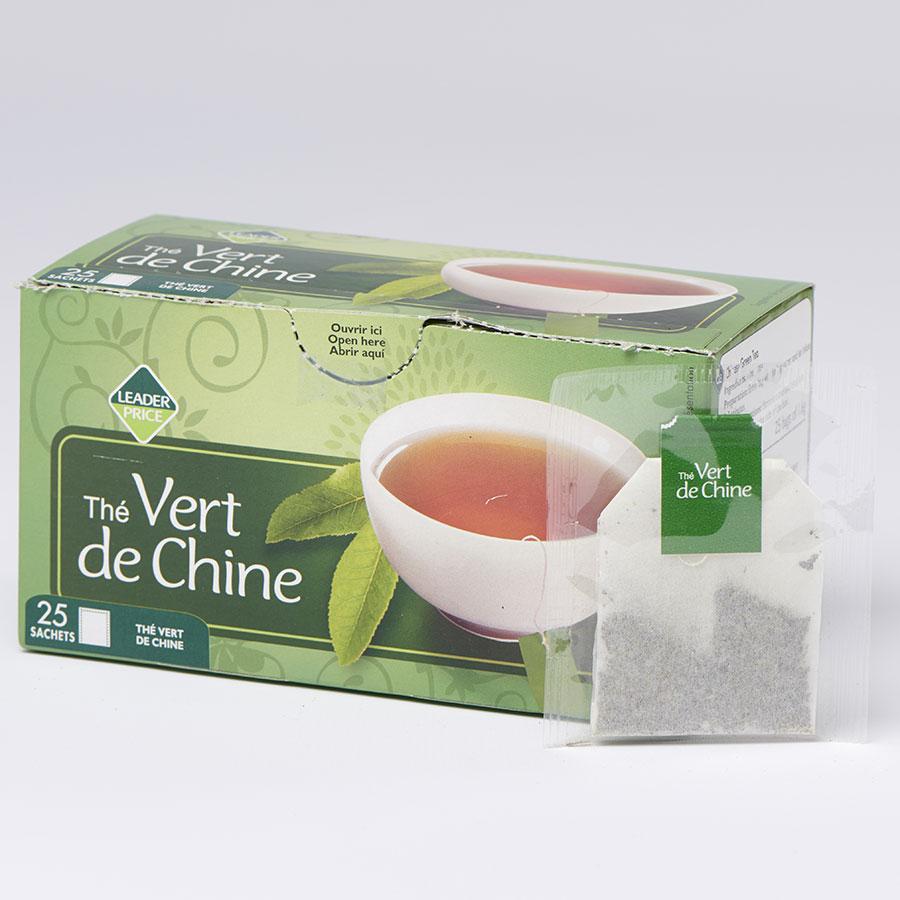 Leader Price Thé vert de Chine -