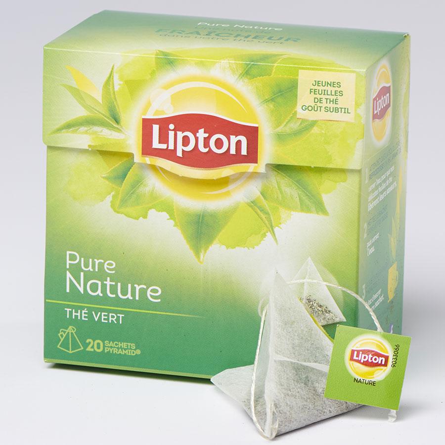 Lipton Thé vert Pure Nature -